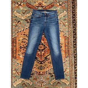GAP Mid Rise True Skinny Jeans (Medium Indigo)